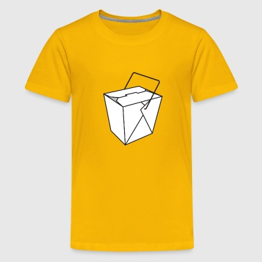 Chinese Takeout Box - Kids' Premium T-Shirt
