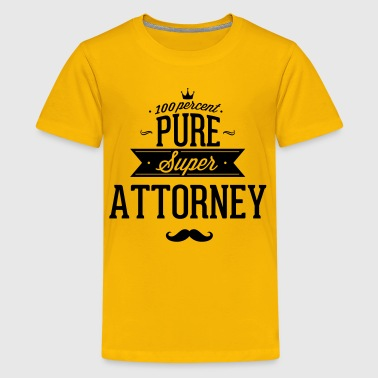 100 percent pure super attorney - Kids' Premium T-Shirt