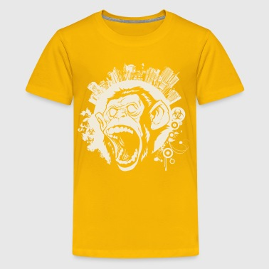 Punk Monkey Urban Monkey - Kids' Premium T-Shirt