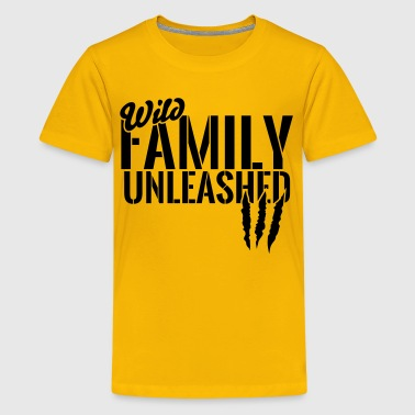 Unleashed wild family unleashed - Kids' Premium T-Shirt