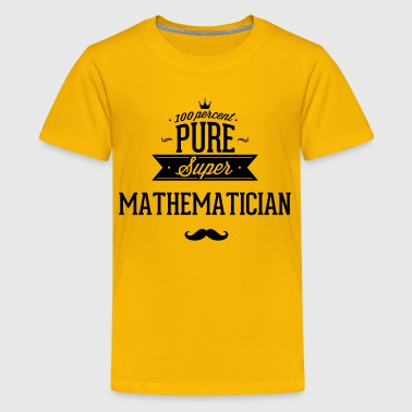100 percent pure super mathematician - Kids' Premium T-Shirt