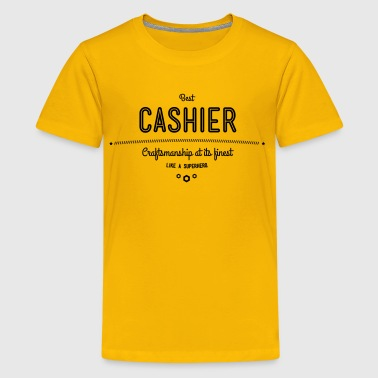 best cashier - craftsmanship at its finest - Kids' Premium T-Shirt