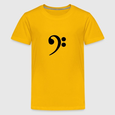 Bass clef - Kids' Premium T-Shirt