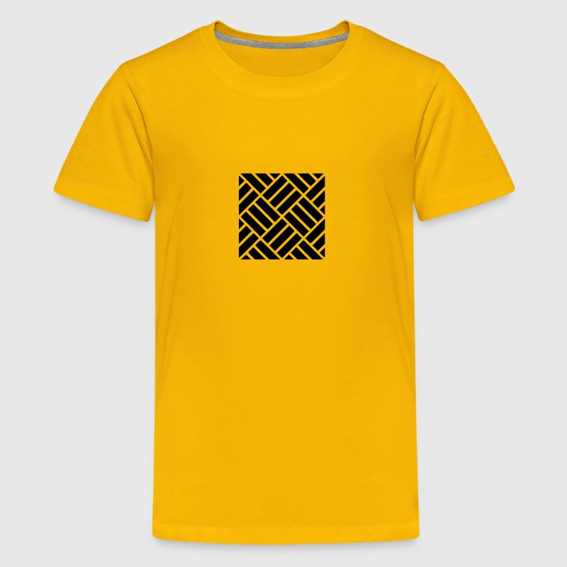 Alternating Tile Pattern - Kids' Premium T-Shirt