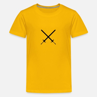 Cross Swords Crossed swords - Kids' Premium T-Shirt