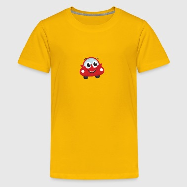 large happy car - Kids' Premium T-Shirt