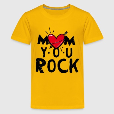 Mom Rocks - Kids' Premium T-Shirt