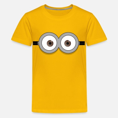 Funny Dave glasses - Kids' Premium T-Shirt