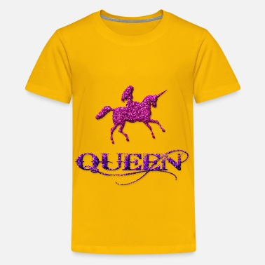Queen Of The Unicorns Unicorn Queen - Kids' Premium T-Shirt