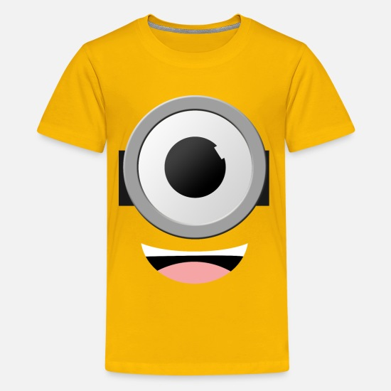 Minions Shirts Kids and Youth Burgandy