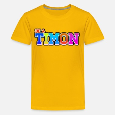 Timon TimonKidsEdition | Colorful Desing - Kids' Premium T-Shirt