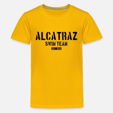 Cemetery Alcatraz Swim Team - 1934 - California - Prison - Kids' Premium T-Shirt