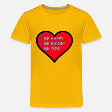 Inspiration Inspiring quote - Kids' Premium T-Shirt