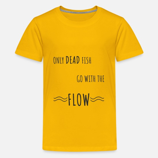 Minimalist T-Shirts - Motivational saying Entrepreneur positive gift - Kids' Premium T-Shirt sun yellow
