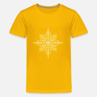 Snow Crystal Snow crystal - Kids' Premium T-Shirt