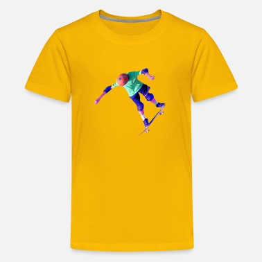 Skateboard Skateboard Kid - Kids' Premium T-Shirt