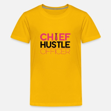 Chief Of Police Chief Hustle Officer - Kids' Premium T-Shirt
