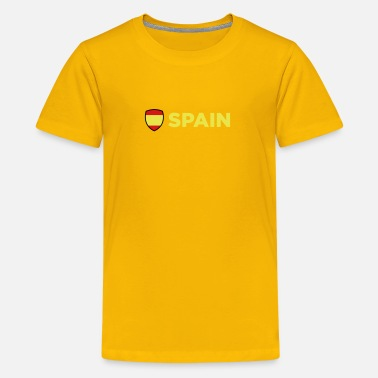Spain National Flag Of Spain - Kids' Premium T-Shirt