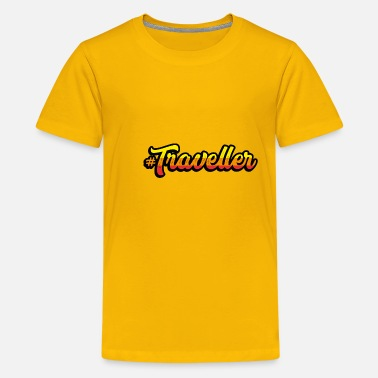 Travel Traveller Travel - Kids' Premium T-Shirt