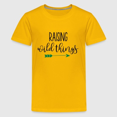 Raising Wild Things Mom Life - Kids' Premium T-Shirt
