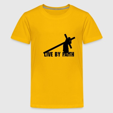 Jesus Carrying Cross - Kids' Premium T-Shirt