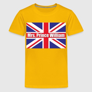 Mrs. Prince William Royal Wedding - Kids' Premium T-Shirt