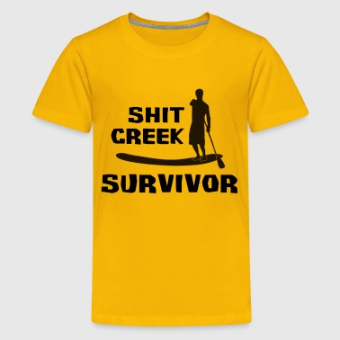 Shit Creek Survivor - Kids' Premium T-Shirt