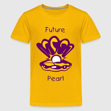 Pearl Quotes Oyster with Pearl - Kids' Premium T-Shirt