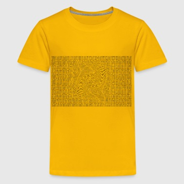 Random Binary Numbers 2 - Kids' Premium T-Shirt