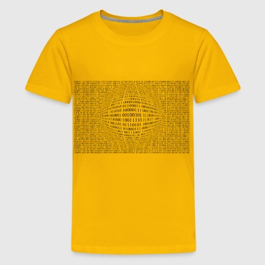Random Binary Numbers 3 - Kids' Premium T-Shirt
