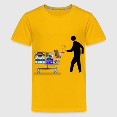 Pedestrian Shopping - Kids' Premium T-Shirt