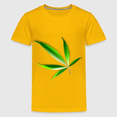 Cannabis leaf - Kids' Premium T-Shirt