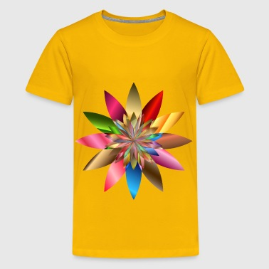 Chromatic Flower - Kids' Premium T-Shirt