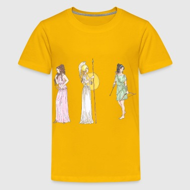 Female Mythological Figures - Kids' Premium T-Shirt