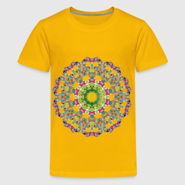 Hexagonal Tessellation Design 6 - Kids' Premium T-Shirt