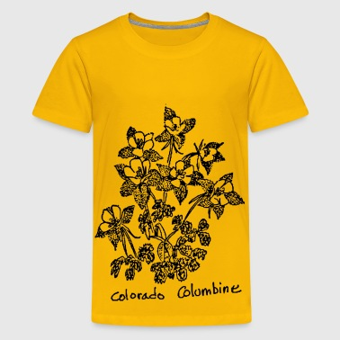 Colorado Columbine - Kids' Premium T-Shirt