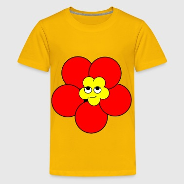 Poppy Smirk - Kids' Premium T-Shirt