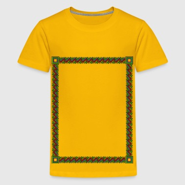 Fuzzy ZigZags - Kids' Premium T-Shirt