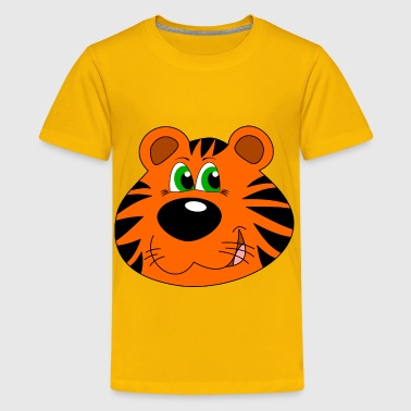 Cartoon tiger - Kids' Premium T-Shirt