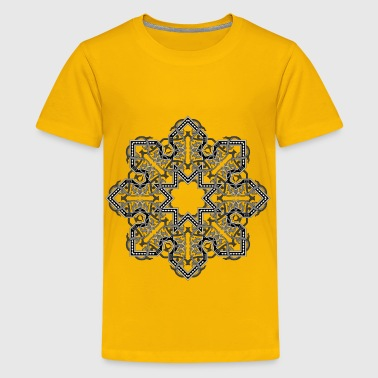 Floral Flourish Design Interpolated 7 - Kids' Premium T-Shirt