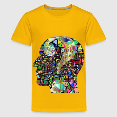 Low Poly Confusion 4 - Kids' Premium T-Shirt