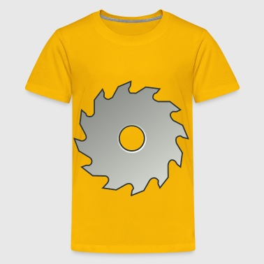 Saw Blade - Kids' Premium T-Shirt