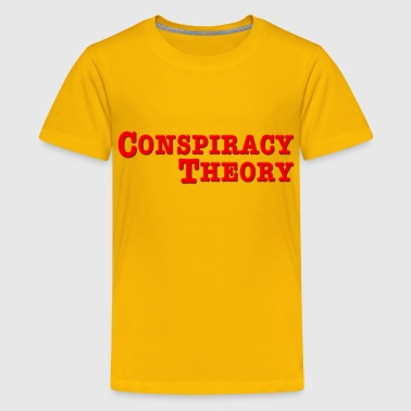 Conspiracy Theory - Kids' Premium T-Shirt