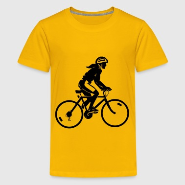 bike rider - Kids' Premium T-Shirt
