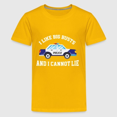 I Like Big Busts And I Cannot Lie Gift - Kids' Premium T-Shirt