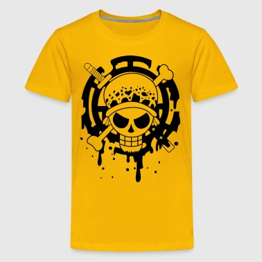 Trafalgar Law Logo - Kids' Premium T-Shirt