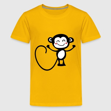 smile monkey c3 - Kids' Premium T-Shirt