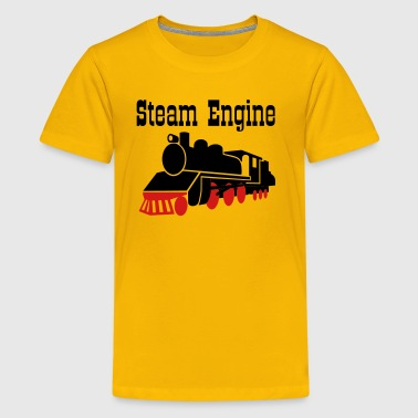 steam locomotive - Kids' Premium T-Shirt