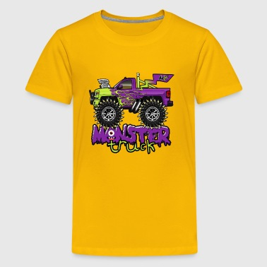 Cartoon Monster - Kids' Premium T-Shirt