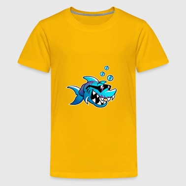 Shark fish - Kids' Premium T-Shirt